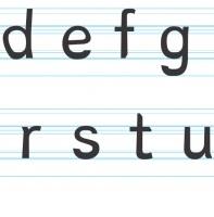 lettertype dyslexie